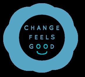 Change Feels Good logo